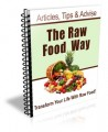 The Raw Food Way PLR Newsletter Set