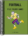 Football File Folder Games (Grades PK-1)