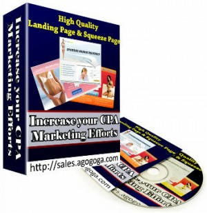 Download More Than 50+ High Quality Landing Page & Squeeze Page Templates
