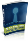 To Net or Not To Net - Master Resale Rights