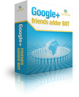 Google+ friends adder BOT - 7 days trial