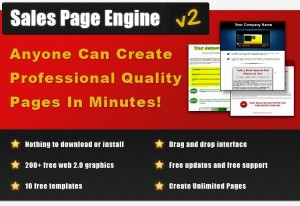 Sales Page Engine v2 One time price