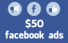 I will provide you 100% working method to get $50 Facebook advertising coupons