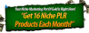 Niche PLR Packages Monthly!